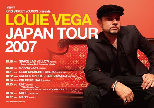 louie vega japan tour 2007
